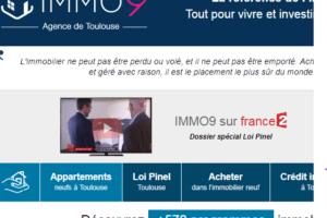 www.toulouseimmo9.com: site spécialiste de l'immobilier neuf à Toulouse