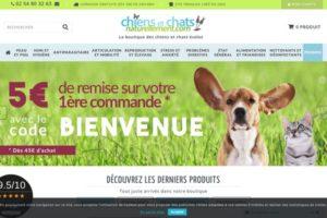 Boutique consacrée aux chiens et chats