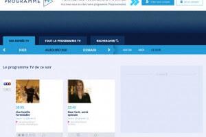 Programme télé en ligne