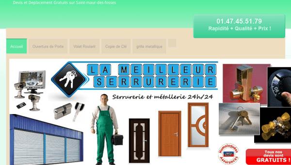 serrurier-saint-maur-des-fosses.fr : entreprise de serrurerie moins chère
