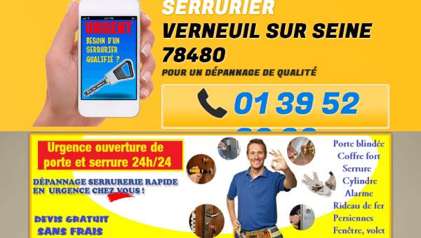 Entreprise de serrurerie à Verneuil-sur-Seine