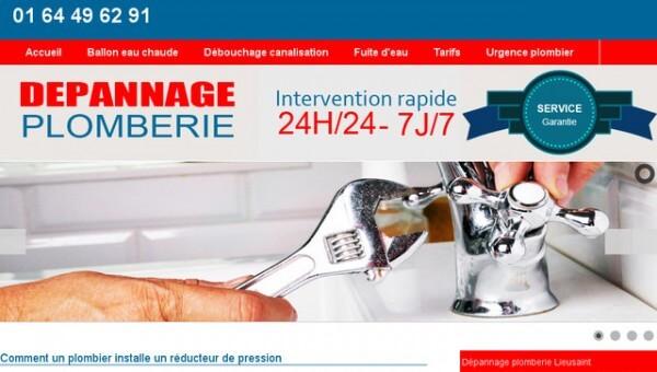 www.plombier-lieusaint.com