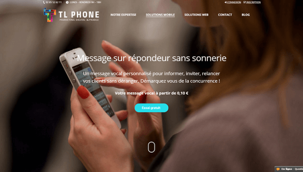 TLPhone Agence marketing mobile est refusée