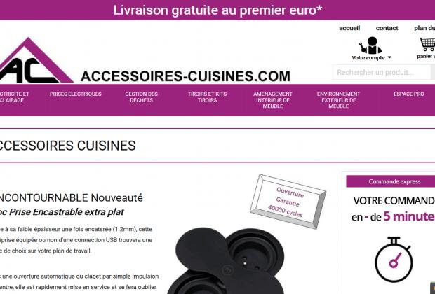Accessoires-Cuisines.com : le site pour équiper sa cuisine