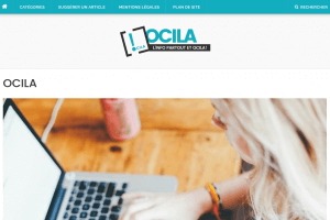 Ocila.fr : le web magazine