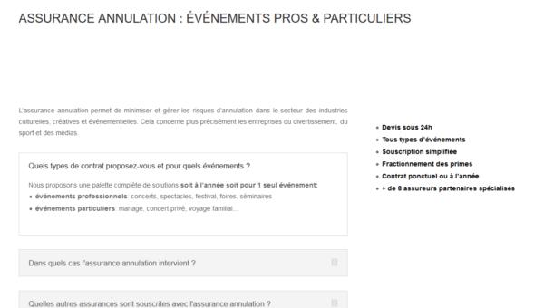 www.assurances-annulation.com : devis d'assurance annulation