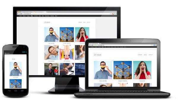 2D web: agence web en Belgique