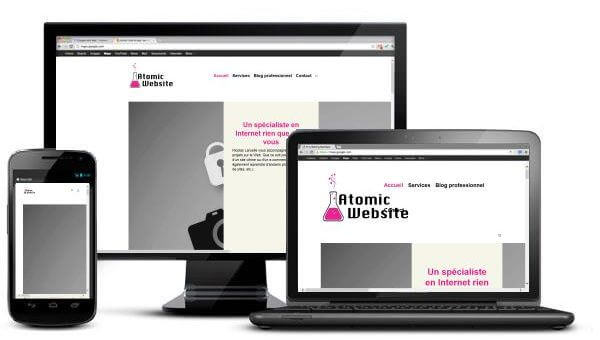 Atomic Website: agence web intervenant en Belgique