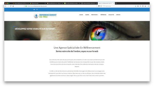 Développez votre visibilité sur le web