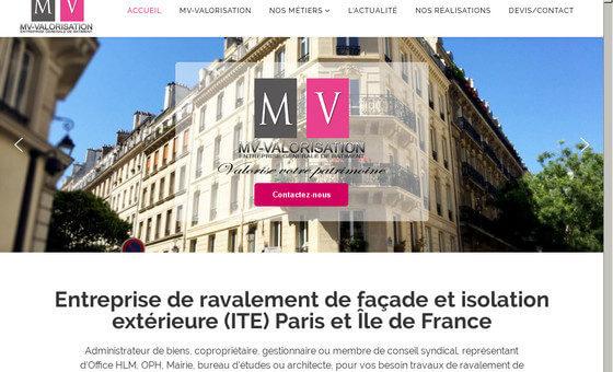 Site de l'entreprise MV-Valorisation
