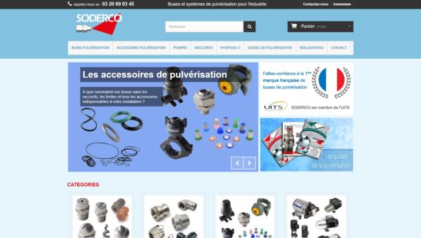 www.soderco.fr : fournisseur de buses de pulvérisation industrielles