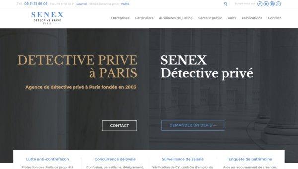 SENEX Détective Paris