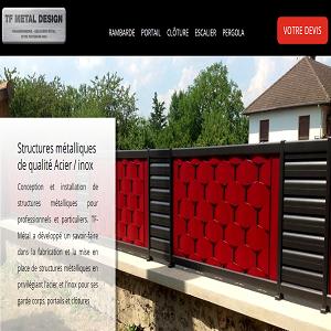 TF Metal : Professionnel de structures en métal en Alsace